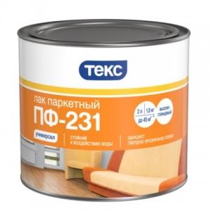 ТЕКС Лак паркетный ПФ-231 класс Универсал глянцевый (17 кг) : фото из каталога stroymat.msk.ru