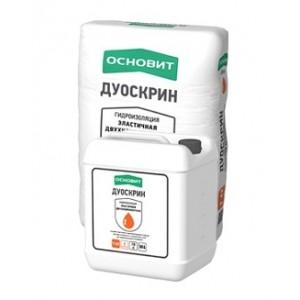 ОСНОВИТ Т-62 Эластичная 2-х компонентная гидроизоляция ДУОСКРИН Сухой компонент (25кг) : фото из каталога stroymat.msk.ru