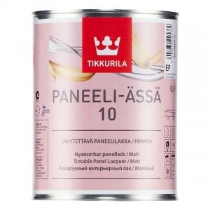 ТИККУРИЛА Панели Ясся 10 ЕР (PANEELI-ASSA 10) в/д интерьерный лак для стен матовый (2,7л) : фото из каталога stroymat.msk.ru