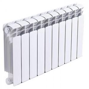 Радиатор биметаллический RIFAR B350 10 секций  (гл.90 мм) (Россия) : фото из каталога stroymat.msk.ru