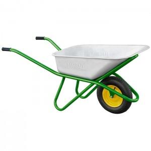 Тачка садово-строительная, усиленная, грузоподъемность 200 кг, объем 90 л// PALISAD : фото из каталога stroymat.msk.ru