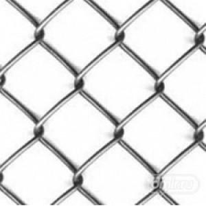 Сетка рабица оцинкованная 10х10х1,2 мм (1х10м) : фото из каталога stroymat.msk.ru