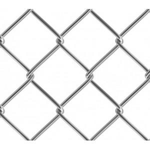 Сетка рабица оцинкованная 50х50х2,5 мм (1,8х10м) : фото из каталога stroymat.msk.ru