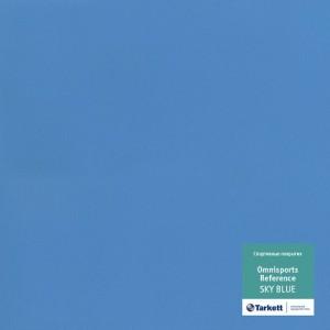 Спортивный линолеум TARKETT OMNISPORTS R65 SKY BLUE (2м) : фото из каталога stroymat.msk.ru