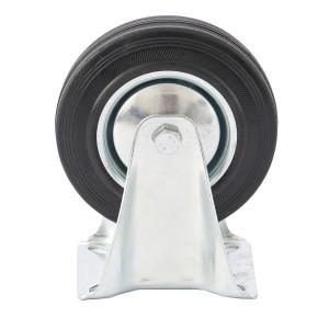 Колесо неповоротное d-160мм, креплениеплатформенное // СИБРТЕХ : фото из каталога stroymat.msk.ru