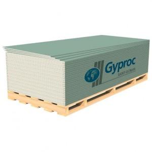 Gyproc Гипсокартон Аква Лайт 2500х1200х9,5мм для потолка влагостойкий : фото из каталога stroymat.msk.ru